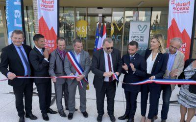 Inauguration de la Maison de Santé du Vuache
